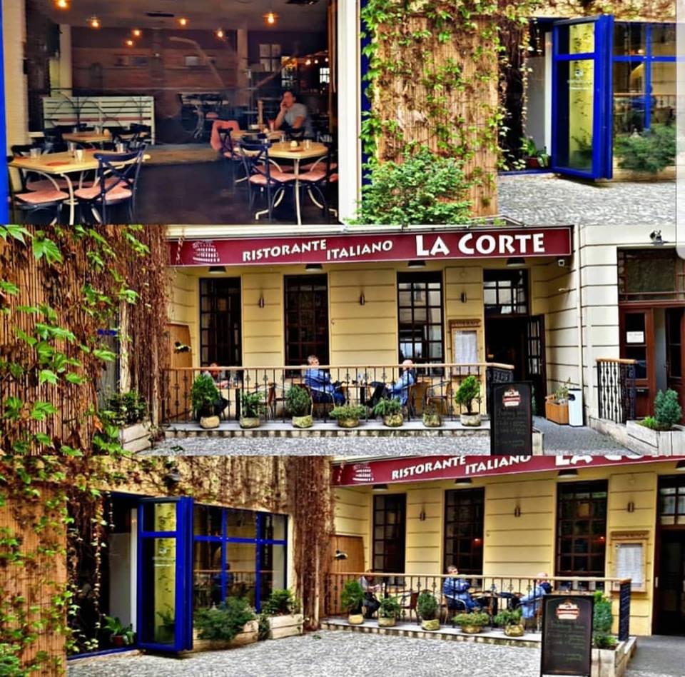La Corte Italská restaurace